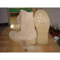 Wholesale Military Boot Desert Boot  Jungle Boot Combat Boot Police Shoes  Patent PU Shoes from china suppliers