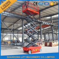 Wholesale Self Moving Light Duty Scissor Lifting Platform with Fault Diagnostic System from china suppliers