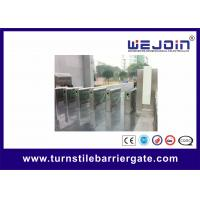 China Flow Control Handicap Flap Pedestrian Barrier Gate Optical Turnstiles on sale