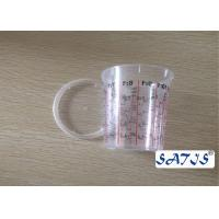 Disposable Mixing Painting Bottle Auto 400ml Nylon cup Logo customize print on body