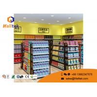 Wholesale Cold - Rolled Steel Supermarket Gondola Shelving Easy Assemble Light Duty Type from china suppliers