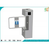 Wholesale Out Door Heavy Duty Automatic Turnstiles , Stainless Steel ID Card Swing Barriers from china suppliers