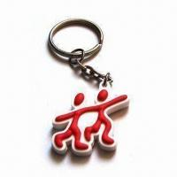 Wholesale PVC Keychain, Customized Designs and Logos Available, Suitable for Promotional Gifts from china suppliers