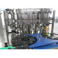 Quality Monoblock Fully Automatic Filling Machine 100mm - 180mm Can Height for sale