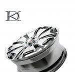 High Polished 5 Hole Alloy Off Road Beadlock Car Wheel Rim Deep Dish 15 - 21