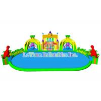 Wholesale Mobile Huge Inflatable Water Park / Outdoor Inflatable Swimming Pool Slides from china suppliers