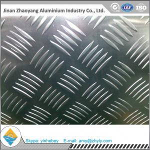 Wholesale Supermarket Floor Aluminium Alloy Sheet 0.8mm 1.0mm 5 Bar Aluminum Tread Sheet from china suppliers
