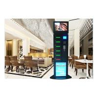 Wholesale Hotel Free Charge Advertising Cell Phone Charging Vending Station With LEDs from china suppliers