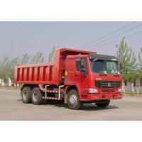 Buy cheap Middle Lifting Heavy Duty Dump Truck , Sinotruck Howo 6x4 10 Wheeler Truck from wholesalers