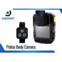 Quality Military HD WIFI Body Camera 10 Hours Recording With Remoter 128GB for sale