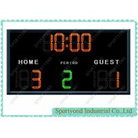 Buy cheap Small LED Electronic Basketball Scoreboard With Wireless Remote Controller from Wholesalers