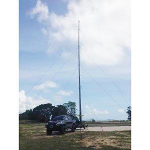 China 18m Pneumatic Telescopic Mast Mobile Telecom Trailer Tower on sale