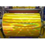China Printed Aluminum Foil Paper/  Laser Film Paper for Salon Decoration/ Eyes Mask/Gift Case for sale