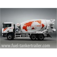 China C&C Truck 6 * 4 Cement bulk Truck 10000L / concrete mixing truck on sale