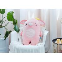 China Crown Cute Pig Cuddly Toy , Mascot Plush Toys 45-55cm Size For Girlfriend Gift on sale