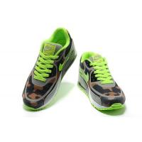 China Nike Air Max 90 Tape Fluorescent Green Grey Brown Mens Shoes - Sportsytb .ru on sale
