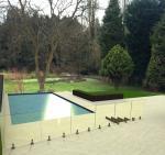 316 Anti-Rust Stainless Steel Spigots Frameless Swimming Pool Glass Railing