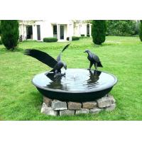 Wholesale Antique Eagle Birdbath Bowl Bronze Garden Sculpture Decoration Corrosion Stability from china suppliers