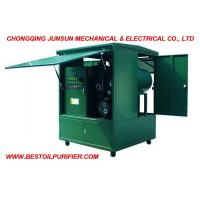 Buy cheap Full Enclosed Movable Type High Efficiency Made by Junsun Transformer Oil Dehydration & Degasification Plant from wholesalers