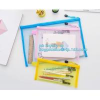 Wholesale stationery within mesh PVC waterproof zipper document bag/ pvc folder, pp plastic file folder printable document bag from china suppliers