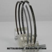 Wholesale Pajero Car Engine Piston Rings Set / Mitsubishi 4M40 Engine Parts 95mm from china suppliers