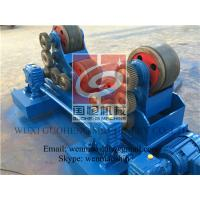 Buy cheap Self Aligning Rotators with Rubber Wheel , Tank Turning Rolls , France Schneider Inverter from Wholesalers