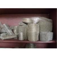 """Wholesale 304 / 316 Knitted Stainless Steel Wire Mesh 20-700mm Width With Wire 0.01""""  0.009"""" from china suppliers"""