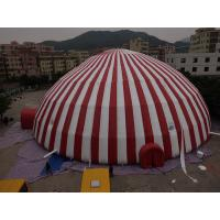 Quality Commercial 500 People Inflatable Dome Tent / Large Inflatable Marquee Tent for sale