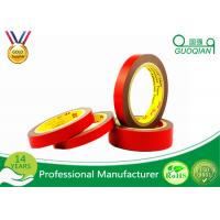 Quality Red Color Double Sided Window Foam Tape , PE Acrylic Foam Tape 20MM X 50M for sale