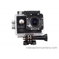 China HD Sports Video Action Camera With Wifi Head Mounted For Underwater on sale