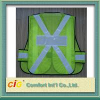 Wholesale EN20471 / CE Standard LED Reflective Safety Vests , Orange Reflective Security Clohting from china suppliers