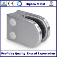 Buy cheap Stainless Steel D Shape Round Glass Clamp 63x45mm Fit 8-10mm Glass for Glass from wholesalers