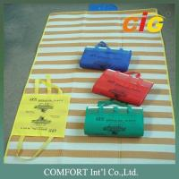 Wholesale 100% Pp Pvc Haji Mat Beach Mat Uv Resistance Red / Blue Color 90x180cm from china suppliers