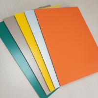 Wholesale Aluminum PVC Composite Wall Panels Prefabricated Building Fire Proof 5mm from china suppliers