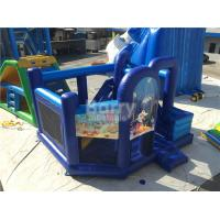 Quality Customized Inflatable Bouncer / Inflatable Bouncy Castle With Slide for sale