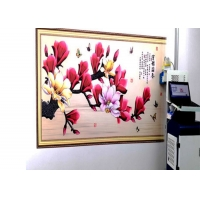 Buy cheap 24㎡/H 720X1080DPI CMYK Vertical Wall Painting Machine from wholesalers