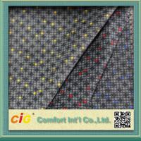 China Paper And Screen Printing Car Seat Upholstery Fabric From 180-230gsm for sale
