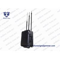 China Portable Cell Phone RF Signal Jammer High Power Vehicle Bomb Jammer With DDS Convoy Jamming System on sale