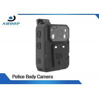 Wholesale Build - In GPS Law Enforcement Body Camera , Police Body Cameras With 140 Degree Angle from china suppliers
