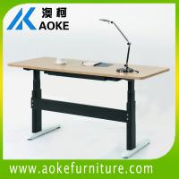 high load and best quality electric square lifting column desk for sale