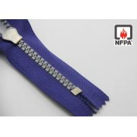 Wholesale Heat Resistant zipper, metal or plastic FR tooth / meta aramid tape from china suppliers