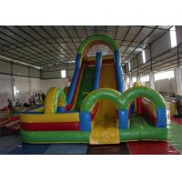 Wholesale Colorful Commercial 18 Foot Inflatable Slide / Inflatable Slip N Slide from china suppliers