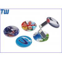China Slim Round Card USB 8 GB Flash Drive High Printing Quality Best Price Best Service for sale