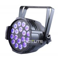 Quality Show Pro LED Par Cans 18 x 12w UV Wash Flood 30° Lux High Brightness for sale