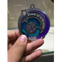 Buy cheap Translucent Color Enamel Medals Die Casting With 864 * 38mm Sublimated Ribbon from wholesalers