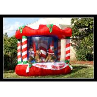 Wholesale Red Christmas Inflatable Warehouse Bouncer Amazing Kids Party Bounce Houses from china suppliers