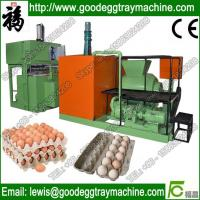 China Paper egg tray pulp moulding machine on sale