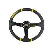 Wholesale 3 Inch Diameter Race Car Steering Wheel , Leather Steering Wheel Cover from china suppliers