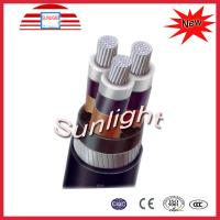 Buy cheap IEC Standard  Aluminum XLPE Power Cable Multi Core Copper Tape Shield from wholesalers