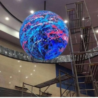 Wholesale SMD212 360° P5 Shopping Mall Spherical LED Display from china suppliers